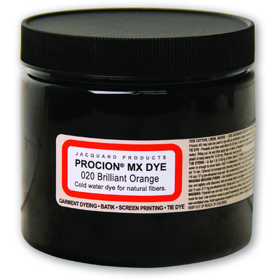 Procion MX Dye, 020 Brilliant Orange (8oz)