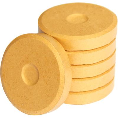 Tempera Cakes, Mini - Metallic Gold (6 Pack)