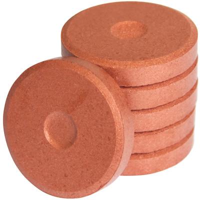 Tempera Cakes, Mini - Metallic Copper (6 Pack)