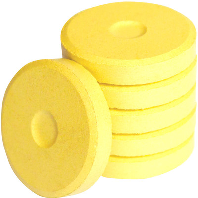 Tempera Cakes, Mini - Metallic Yellow Gold (6 Pack)