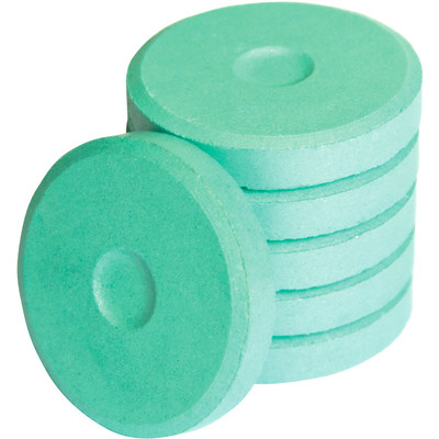 Tempera Cakes, Mini - Metallic Aquamarine (6 Pack)