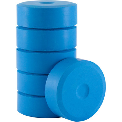 Tempera Cakes, Small - Flourescent Blue (6 Pack)