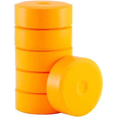 Tempera Cakes, Small - Flourescent Orange (6 Pack)