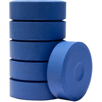 Tempera Cakes, Large - Cobalt Blue (6 Pack)