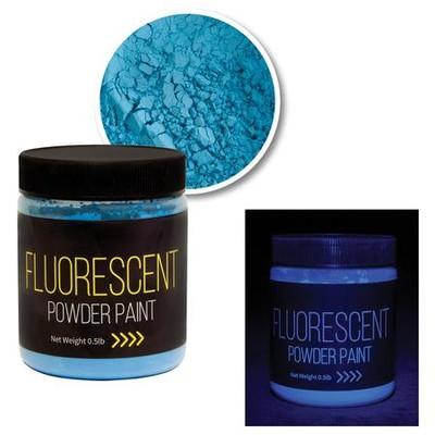 Powder Paint, Fluorescent Blue (0.5lb)