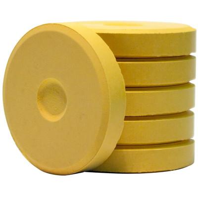 Tempera Cakes, Mini - Yellow (6 Pack)