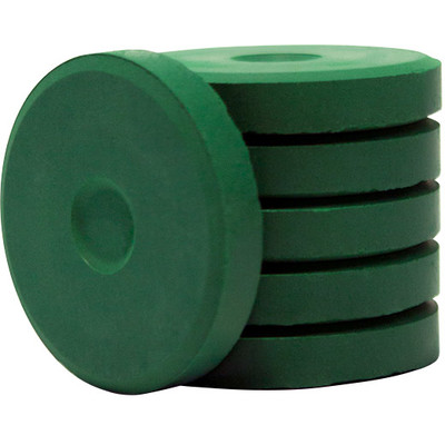 Tempera Cakes, Mini - Green (6 Pack)