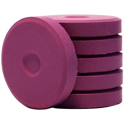 Tempera Cakes, Mini - Purple (6 Pack)