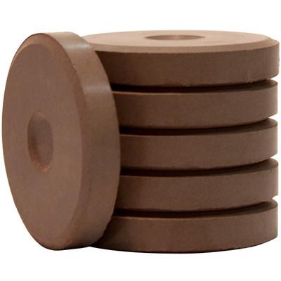 Tempera Cakes, Mini - Brown (6 Pack)
