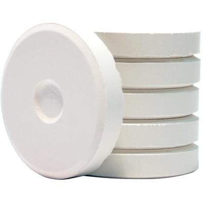 Tempera Cakes, Mini - White (6 Pack)