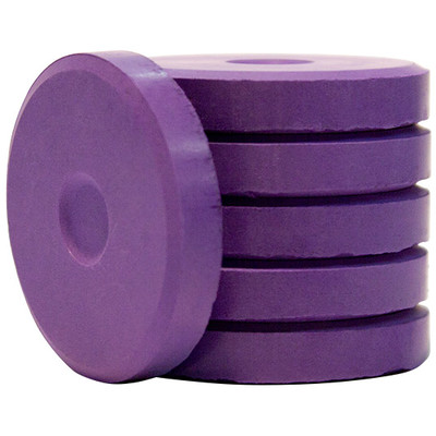 Tempera Cakes, Mini - Violet (6 Pack)