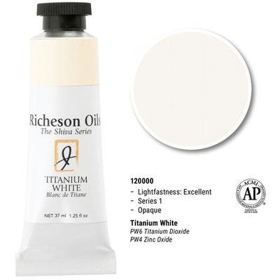 Richeson Oils, Titanium White (1.25oz)