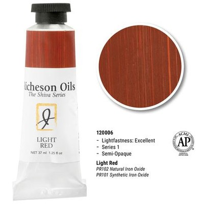 Richeson Oils, Light Red (1.25oz)