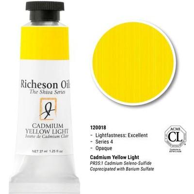 Richeson Oils, Cadmium Yellow Light (1.25oz)