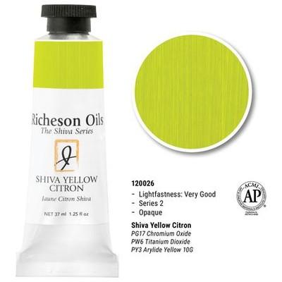 Richeson Oils, Shiva Yellow Citron (1.25oz)