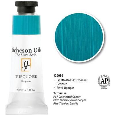Richeson Oils, Turquoise (1.25oz)