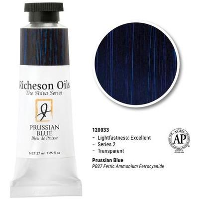 Richeson Oils, Prussian Blue (1.25oz)