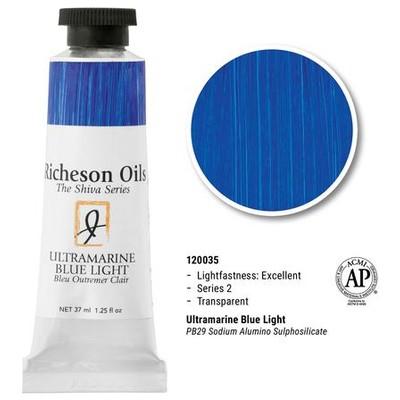 Richeson Oils, Ultra Blue Light (1.25oz)