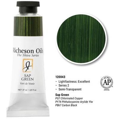 Richeson Oils, Sap Green (1.25oz)