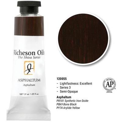 Richeson Oils, Asphaltum (1.25oz)