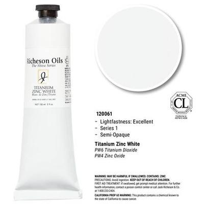 Richeson Oils, Titanium White (5oz)