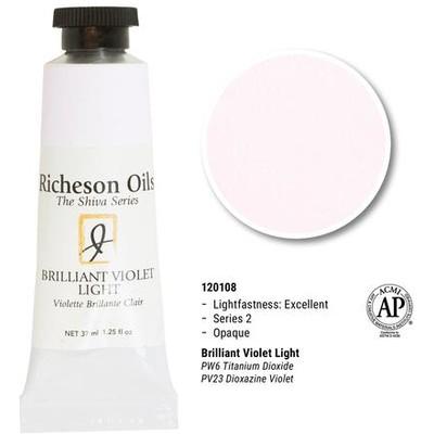 Richeson Oils, Brilliant Violet Light (1.25oz)