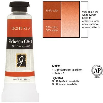 Richeson Casein, Light Red (1.25oz)