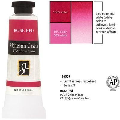 Richeson Casein, Rose Red (1.25oz)