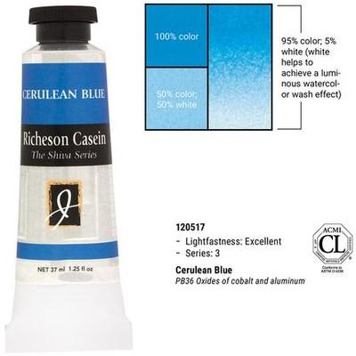 Richeson Casein, Cerlean Blue (1.25oz)