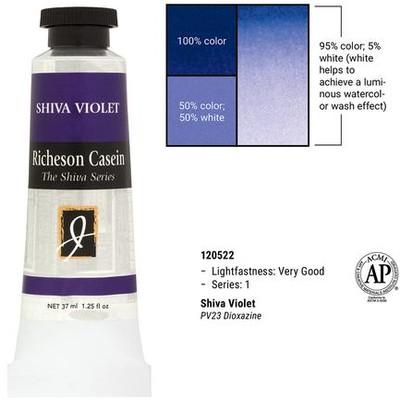 Richeson Casein, Shiva Violet (1.25oz)