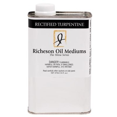 Rectified Turpentine (16oz)