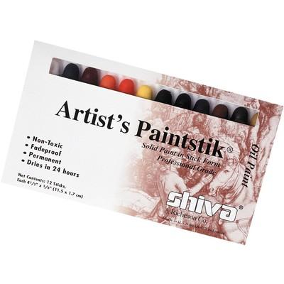 Shiva Paintstik Set, Standard - Professional (12pc)