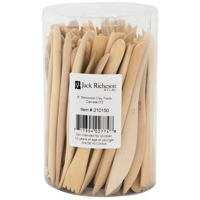 """Boxwood Tool Set, 6"""" - Canister (72pc)"""