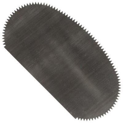 Steel Scraper, Serrated Oval