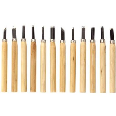 Wood Carving Knife Set (12pc)