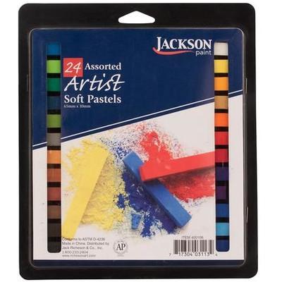 Jackson Pastel Set, Assorted (24pc)