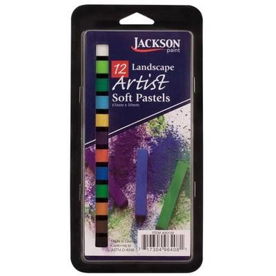 Jackson Pastel Set, Landscape (12pc)