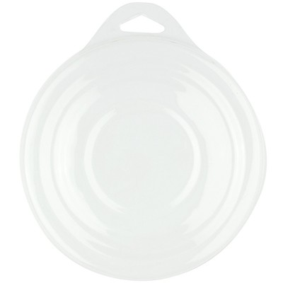 Plastic Palette, Round 10 Well Clear Cover (12 Pack)