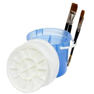 Plastic Brush Basin