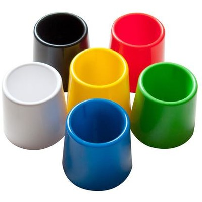 Multicolored Water Pots (6 Pack)