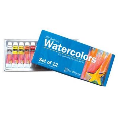 Richeson Tube Set, Watercolor - 12 Color