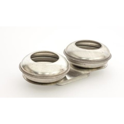 """Pot Shaped Palette Cups, Small Double - 1-1/4"""" x 1/2"""""""