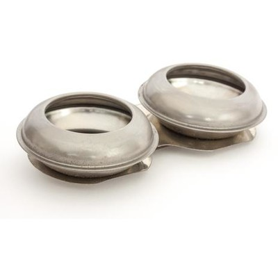"""Pot Shaped Palette Cups, Large Double - 2-1/4"""" x 3/8"""""""
