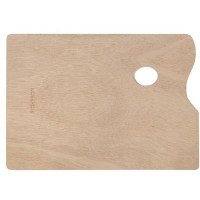 "Wooden Palette, Rectangle - 10"" x 14"""