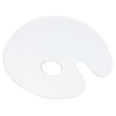 "Oval Plexi Palette, 8.5"" x 11"""