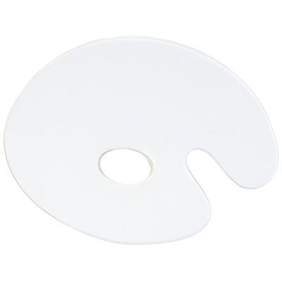 "Oval Plexi Palette, 11"" x 14"""