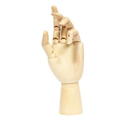"Wooden Manikin, Left Hand Female - 10"""
