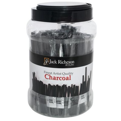 Natural Vine Charcoal Canister, Thin Hard (Packs of 3, 48pc)