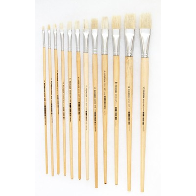 Student Bristle Brush 9579 Series, Flat 04