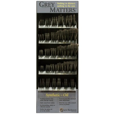 Grey Matters Display, Synthetic for Oil Assortment